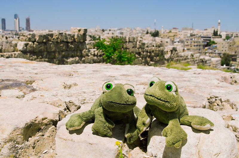 Fred und ich in Amman