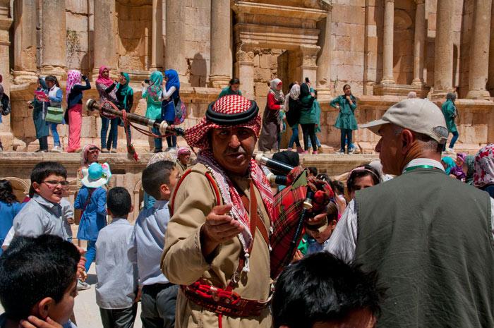 Arabische Musikanten